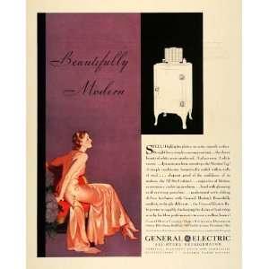 1931 Ad General Electric Kitchen Appliances Steel