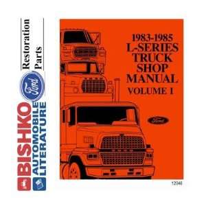 1983 1984 1985 FORD TRUCK L SERIES Service Manual CD
