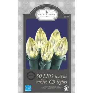Trim a Home 50 C3 LED Light Set   Warm White Energy Star