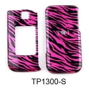 Samsung Alias 2 u750 Transparent Design, Hot Pink Zebra