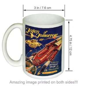 Tales of Tomorrow Science Fiction Vintage Art COFFEE MUG