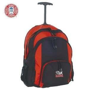 Alabama Crimson Tide Navy & Black Wheeled Backpack