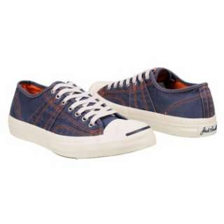 Athletics Converse Mens Jack Purcell Johnny Ox Navy/Red Shoes