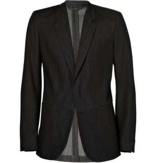 Clothing  Blazers  Single breasted  Denim Blazer