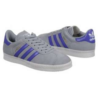 Athletics adidas Mens Gazelle 2 Suede Silver/Purple/White Shoes