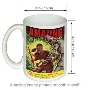 Amazing Stories Vintage Sci Fi Fantasy Cover Art COFFEE MUG