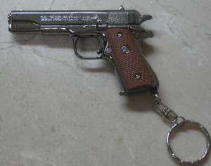 Dong San Model COLT 45 Gun Die Cast Metal Key Chain