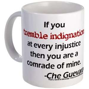 Injustice Quote Che guevara Mug by CafePress:  Kitchen