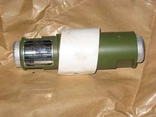 Unused Aircraft Hydraulic Flow Regulator by Waterman