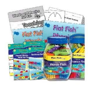 Ideal Words and Phonics Flat Fish Kit