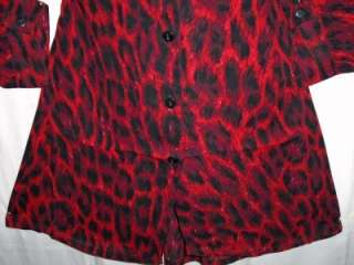 41UU~2X~3X~SEXY~leopard~RED~pin up~ROCKABILLY~GOTHIC~goth~PUNK~dress