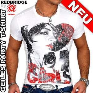 REDBRIDGE / CIPO&BAXX I LOVE BAD GIRLS T SHIRT WEIß
