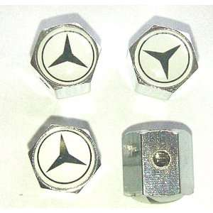 Mercedes Benz Anti theft Car Wheel Tire Valve Stem Caps