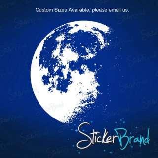 Vinyl Wall Decal Sticker Moon Stars