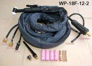 WP 18F 12 2 TIG welding torch Flexible Water cooled