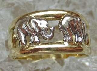 Ringe mit Elefant Goldringe 14kt 585 Gold Ring Schmuck