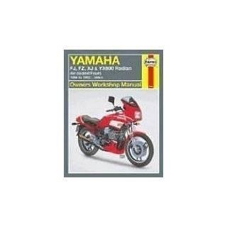 Yamaha FJ, FZ, XJ, & YX600 Radian Owners Workshop Manual Air Cooled