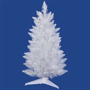 3 ft. PVC Christmas Tree   Sparkle White   Spruce   100