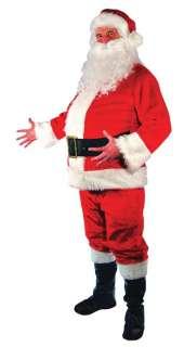 PC SANTA CLAUS CHRISTMAS PLUSH COSTUME MR14812 NEW