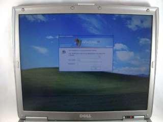 D500 Latitude Laptop Computer 30GB Hard Drive Windows XP Centrino Duo