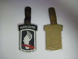 ph66 Vietnam US Army 173rd Airborne Pocket Hanger