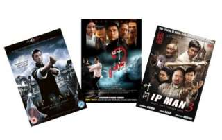 IP MAN COMPLETE COLLECTION on DVD (1, 2, 3) BRAND NEW