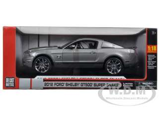 car of 2012 Shelby Mustang GT500 Super Snake Gray With Black Stripes