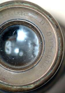 Antique COLLEGE DOPTIQUE PARIS Binoculars and Case |