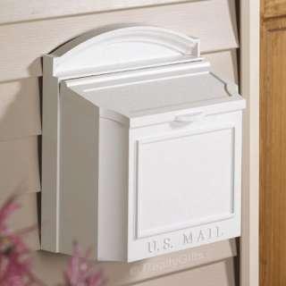 NEW WALL MOUNT MAILBOX ** WHITEHALL MAIL BOX |