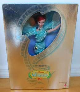 Disney Little Mermaid Ariel~Aqua Fantasy~Premiere Colletion~NIB~Read