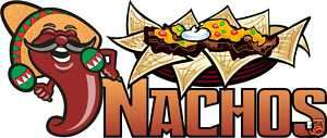 Nachos Chips Mexican Concession Food Sign Decal 14