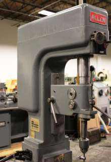No. 1 ALLEN 16 Single Spindle Drill Press (New 1970)