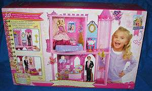 BARBIE PRINCESS CHARM SCHOOL ROYAL CASTLE HTF NEW