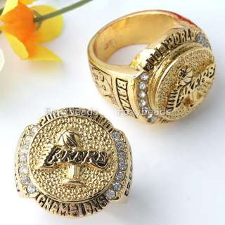 1pc Lakers 09 NBA Kobe Bryant Championship Ring Replica