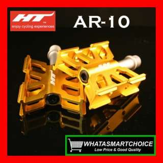 AR10 GOLD Mountain & Road & BMX Bicycle Bike Pedals