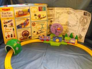 Tomy Tomica Thomas Winnie Pooh Fun Fair Train Set 7418