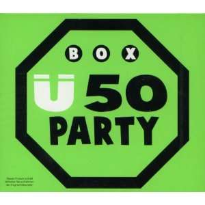 Ü50 Party   3 CD Box Various, Die Flippers, Peggy March, Adam & Eve