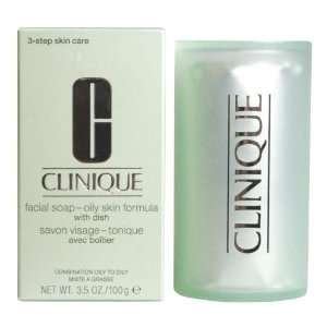CLINIQUE FACIAL SOAP SEIFE OILY SKIN 100 G  Drogerie