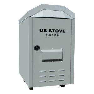 US Stove 3000 Sq. ft. Outdoor Warm Air Wood Coal Furnace 1600EF at The