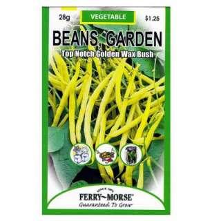 Top Notch Golden Wax Bush Garden Beans Seed 1915 at The Home Depot
