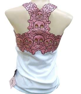 ROCK BABY Tattoo Gothic Designer TANK TOP SHIRT XS/S/M/L/XL/XXL
