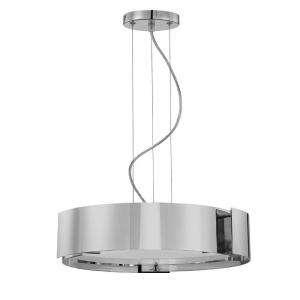 Eurofase Dervish Collection 5 Light Hanging Satin Nickel Large Pendant