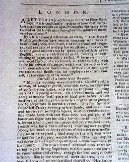 1780 JOHN PAUL JONES Revolutionary War Philadelphia PA Pennsylvania