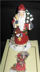 ITL SANTA CLAUS COLLECTION FIGURINE GERMANY 1994 W/BOX