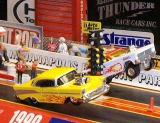 CHEVROLET BEL AIR BLOWN & INJECTED NHRA DRAG RACING PRO MOD