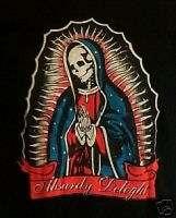 GOTHIC MARIA SKULL Tattoo Madonna Psychobilly Shirt XL
