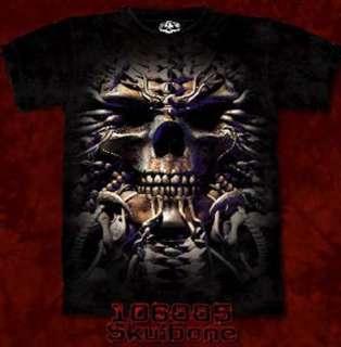 Shirt Skulbone Bone Skul Gr.M / L / XL Neu