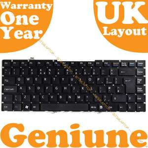 Genuine New SONY VAIO VGN FW510F Laptop KEYBOARD UK