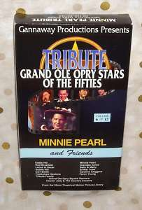 Grand Ole Opry Stars of the 50s V.6 Minnie Pearl Tubb