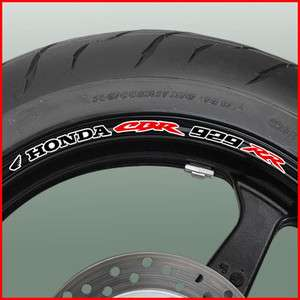 CBR 929RR Fireblade Wheel Rim Stickers Decals cbr929rr 929 rr